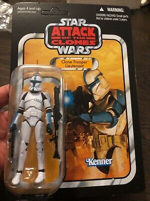 Star Wars Vintage Collection VC109 Clone Trooper Lieutenant Factory Sealed!