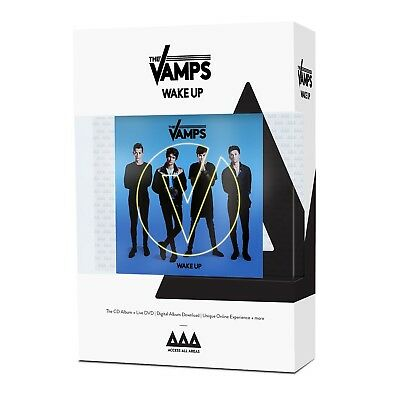 The Vamps - Wake Up (Limited.access All Areas Edition.)  Cd + Dvd New