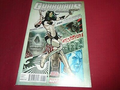 GUARDIANS OF THE GALAXY ANNUAL #1 Marvel Comics 2015 NM
