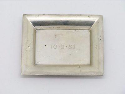 Authentic Tiffany & Co. Makers Sterling Silver Mini Pin Tray