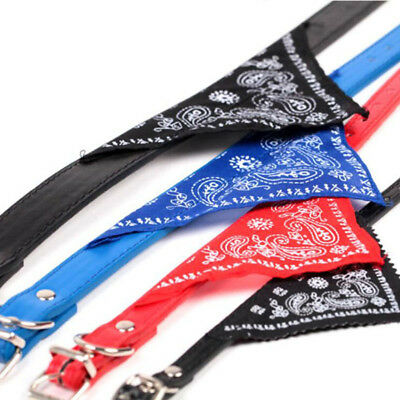 12pcs/lot Adjustable Pet Dog Cat Bandana Scarf Collar Neckerchief pet dog collar