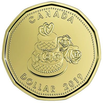 2019 Canada Uncirculated Wedding set -IN STOCK - special dollar coin