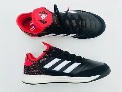 huge selection of c6c3a 63575 Adidas Copa Tango 18.1 TR Turf Soccer Shoes Black Red White Men s Size 10.5