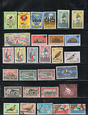 Libya  Libia  Stamps Canceled Used   & Mint Hinged  Lot 39327