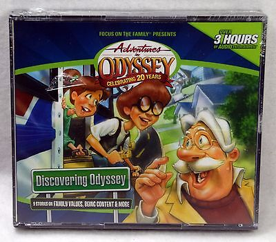 NEW Discovering Odyssey Adventures in Odyssey Audio CD Set AIO Focus on Family