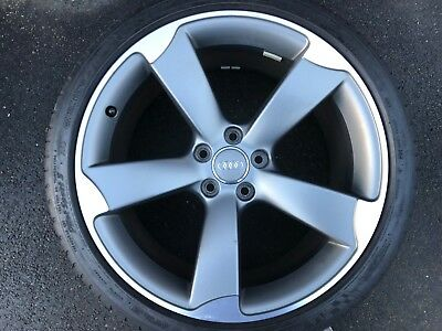 "Genuine Audi A5 S5 S-Line Black Edition 19"" Spare Rotor Alloy Wheel 8T0601025Be"