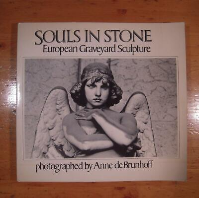 VG 1st Ed PB SOULS in STONE deBrunhoff Cemetery Photography Funeral Post Mortem