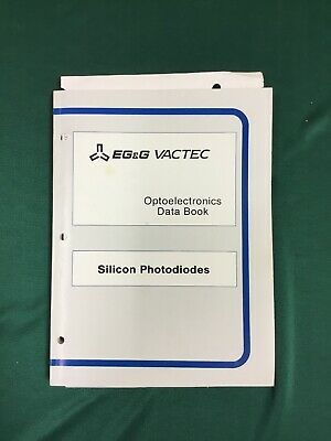 EG & G Vactec Optoelectronics Data Book Silicon Photodiodes 1990