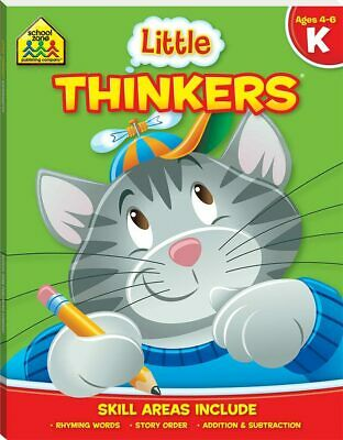 School Zone Little Thinkers Kindergarten by Hinkler Books NEW Free Shipping!