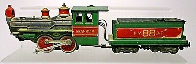 American Flyer Franklin 4-4-0 For Parts-S Scale