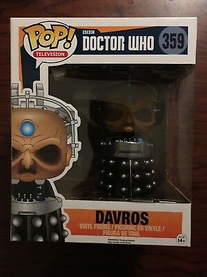 "Funko 6"" Pop! Davros #359 Doctor Who Dalek Fourth Tenth Eleventh Twelfth Bbc Tv"