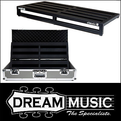 Pedaltrain Classic PRO Pedal Board Frame w/ Tour Case with Wheels RRP$959