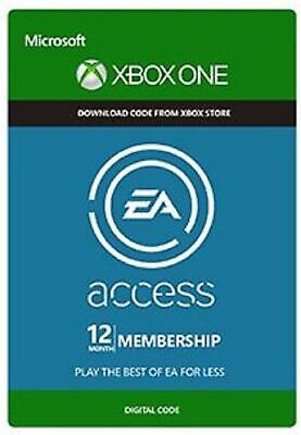 EA Access 12 Month Subscription Xbox One Key