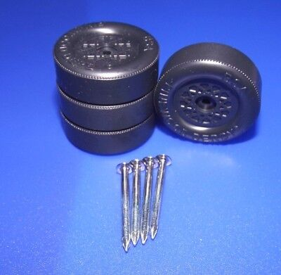 BSA Pinewood Derby Lathed Wheels & Polished Axles Domed Hub Fast Shipping by SLT