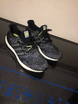 54011035196d ADIDAS ULTRA BOOST LTD 4.0 5TH ANNIVERSARY REFLECT 3M CORE BLACK IRON Mens  11