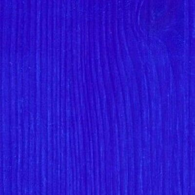 Wizart Colors Blue Wood Stain - a professional water-based wood finish Dye