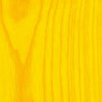 Wizart Colors Yellow Wood Stain - a professional water-based wood finish Dye