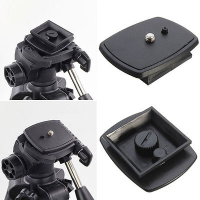 Tripod@Quick Release Plate Screw Adapter Mount Head For DSLR SLR Digital Came WL