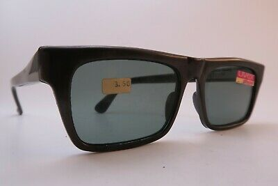 Vintage late 50s Uvex sunglasses NOS brown grey lens made in Germany
