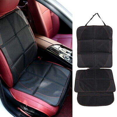 Leather Auto Protector Child Baby Safety Mat Anti Slip Pad Car Seat Cover