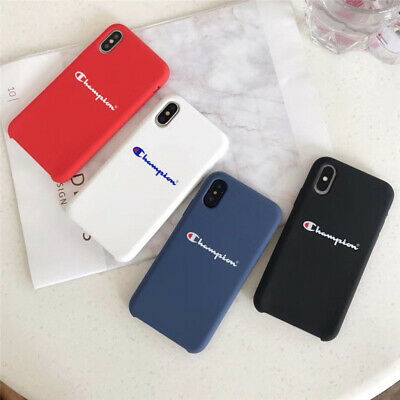 competitive price db132 13bfb HIGH QUALITY CHAMPION Silicone Soft Case For iPhone X XR XS Max 6 6s 7 8  Plus