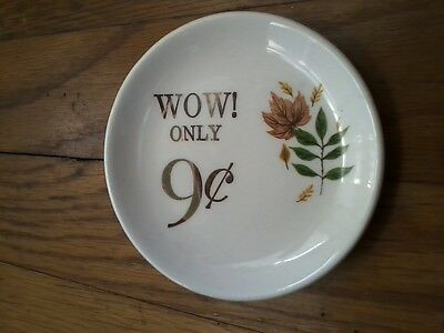 Wow! Only 9 cents - Miniature China Plate