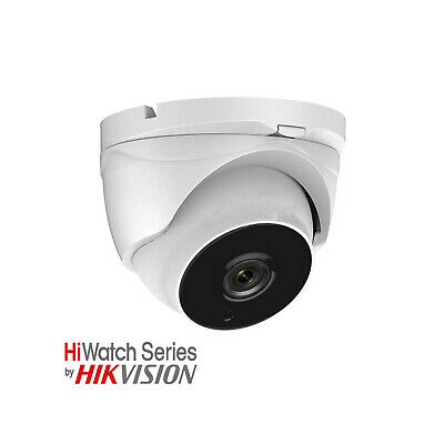 HiWatch 2MP White Dome Camera 20m IR With 2.8mm Lens