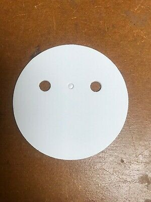 Rosette Backing Discs with holes for pins and clips 1 tier