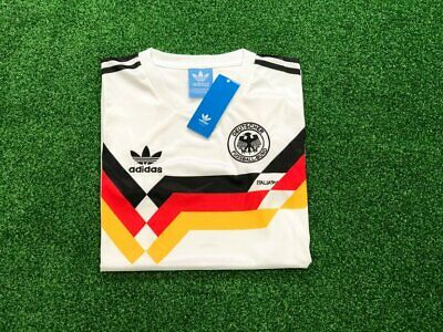 West Germany Retro Home Football Shirt 1990 Soccer Jersey EXTRA LARGE