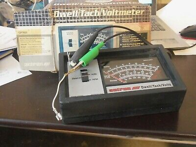 Actron CP7605 Dwell/Tach/Volt Meter Tester, RPM + Ignition Dwell Angle Analyzer