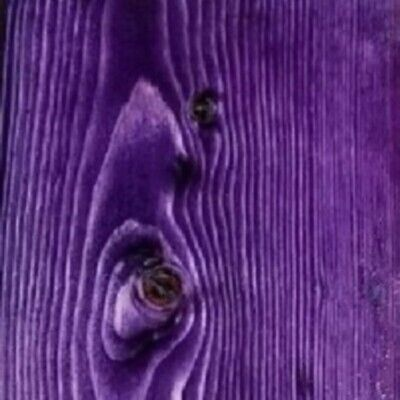 Violet Wood Stain a professional water-based wood finish Dye by Wizart Colors