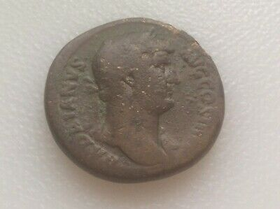 Hadrian 117-138 AD bronze sestertius @@ sharp coin must see @@ lot#1B