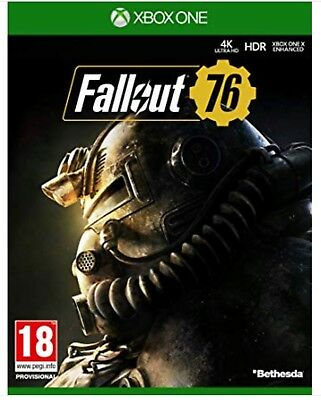 Fallout 76 Xbox One Game - Brand New Sealed (fast Dispatch)