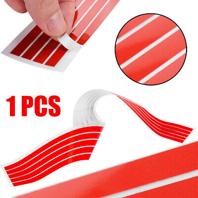 1x Red Front Hood Grill Grille Autocollant pour VW Volkswagen Golf 6 7 Tiguan