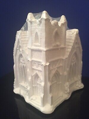 California Creations City Church 97011 Ready to Paint Village House Unfinished
