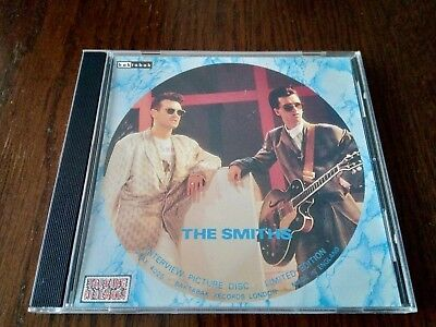 The Smiths – Interview Picture Disc CD - Very Good Condition