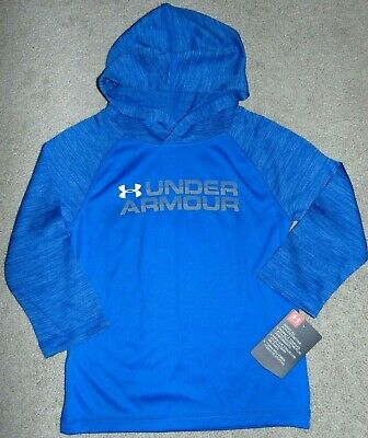 ~NWT Boys UNDER ARMOUR Long Sleeve Hoodie Shirt! Size 2T Cute:)!