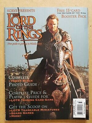Scrye Your Guide to Gaming in Middle Earth Lord of the Rings Cover 2004 Aragorn