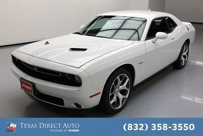 2015 Dodge Challenger R/T Plus Texas Direct Auto 2015 R/T Plus Used 5.7L V8 16V Automatic RWD Coupe