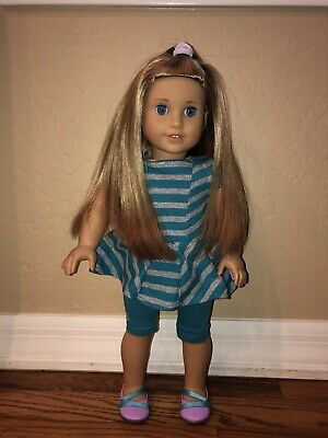 American Girl Doll Lot - McKenna 2012 and 1 Truly Me- 10 outfits, 2 movies!! WOW