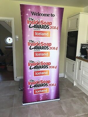 Advertising Banner Stand, Pop Up / Pull Up, 2 M X 85 cm