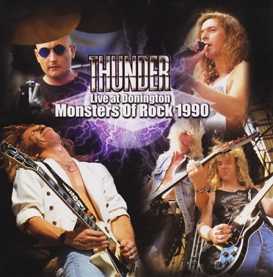"Thunder - Live at Donington ""Monsters of Rock 1990"" CD"