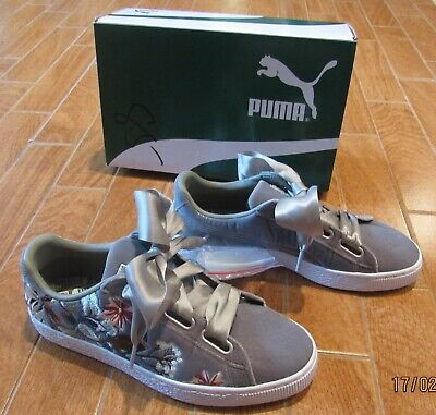 PUMA BASKET HEART Hyper Embroidery Women's Shoes Womens 8.5 New In ...