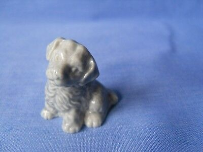 WADE WHIMSIES GREY Mongrel Puppy - World Of Dogs - Perfect Condition