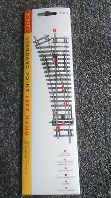Hornby R8072 Standard Point Left Hand Oo Guage Brand New