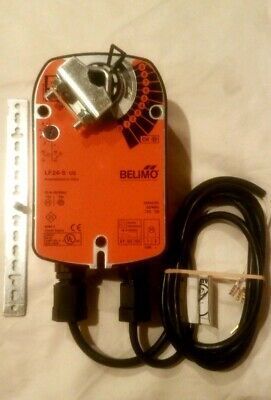 Belimo LF24 S Damper Actuator W/AUX Switch 24VAC/DC New In box.