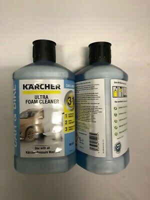 Karcher Ultra Foam Cleaner x 2 bottles two 1ltr bottles