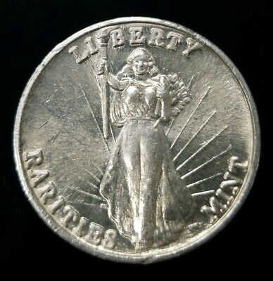 Rarities Mint Liberty 1 troy oz .999 Fine Silver High Relief Round [SC7636]