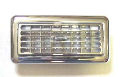 A/C heater vent sleeper chrome plastic Freightliner Century berth interior