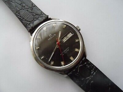 Vintage Milus 25 Jewels Automatic M 30 172  Swiss Made Men's Watch..Not Working.